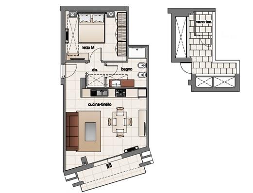Confortevole Appartamento Di 70 Mq